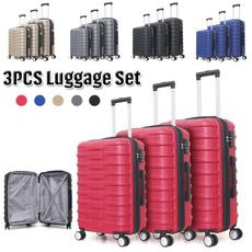 durableluggagecase, lights, expandableluggageset, Luggage