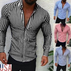 slim, formal shirt, Dress Shirt, Sleeve