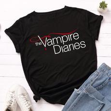 thevampirediariesshirt, cute, thevampirediarie, Cotton