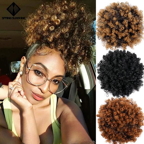 wig, hairscrunchie, hairbun, Beauty