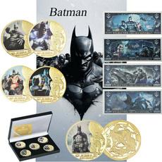 Dark Knight, justiceleague, gold, Coins & Paper Money