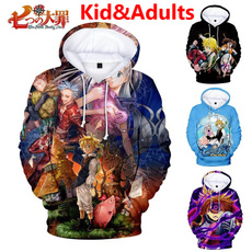 nanatsunotaizaithesevendeadlysinshoodie, Fashion, Anime, Hoodies
