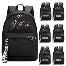 travel backpack, straykid, Fashion, Capacity