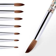 acrylicpowdermanicure, acrylicnailbrush, art, manicure