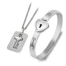 Steel, Stainless Steel, concentriclockkeyset, valentinesdaypresent