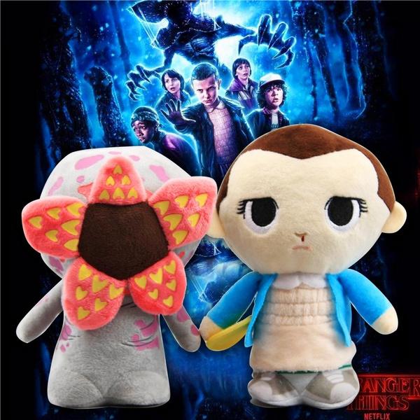 Stranger Things 3 Eleven with Eggo Demogorgon Plush Toys Soft Stuffed Doll 20cm