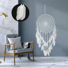 indiancraft, feather, Home Decor, largedreamcatcher