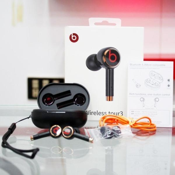 Refurbished Beats Tour 3 Wireless Earphones Bluetooth Earbuds New Model For Beats Mini Handsfree In Ear Headphones Kopfhorer Cuffie Wireless With Charging Box Wish