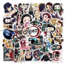 demonslayerkimetsunoyaiba, myheroacademia, Luggage, Stickers