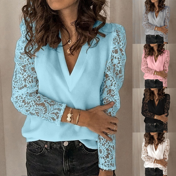 blouse, Tops & Tees, Fashion, Lace