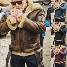 thickencoat, motorcyclejacket, Plus Size, Jacket
