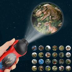 Flashlight, Dinosaur, Toy, projection