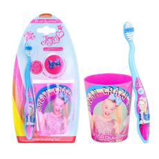 toothbrushe, pink, jojosiwa, toothbrushholder