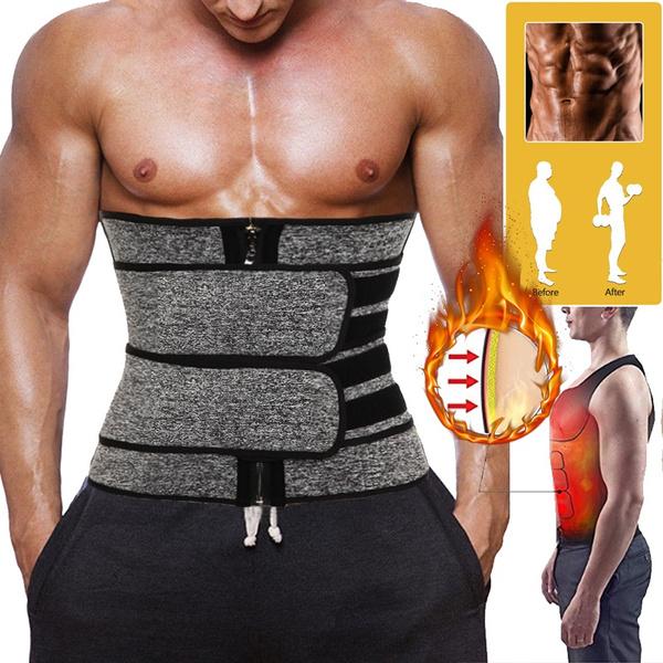 #Fajas Para Hombres Reductora De Hombre Reductoras Adeazar Bajar Peso Corset Gym