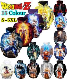 hoodiesformen, hooded, Casual, gokuhoodie