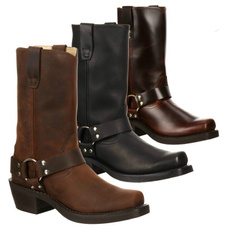 School, Fashion, Leather Boots, Winter