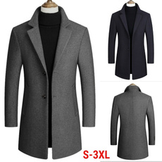 casual coat, collar slim, Plus Size, Spring/Autumn