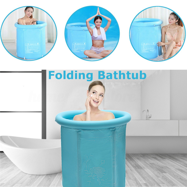 Size : S Inflatble Bath Tub Adult And Baby SPA Foldable Bathtub Large Size
