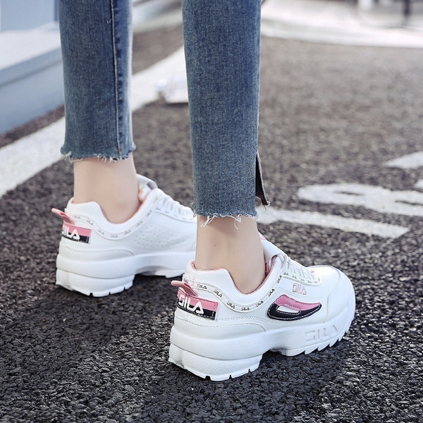 Womens Trainer Shoes Breathable Casual