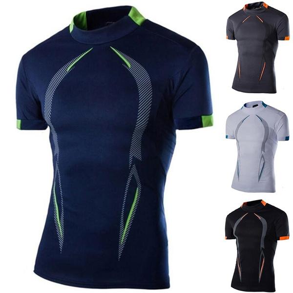 Mens T Shirt, Sport, Shirt, Fitness