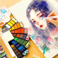 Art Supplies, art, watercolorbrush, watercolorpaint