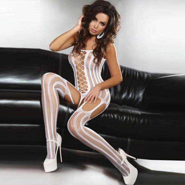 nightwear, bodystocking, Fish Net, Women Stockings