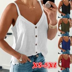 Women Vest, Vest, Fashion, buttontop