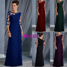 Plus Size, budsilk, long dress, Evening Dress