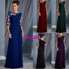 Plus Size, budsilk, long dress, Evening Dress