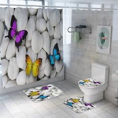 bathroomrugset, Bathroom Accessories, bathroomcurtain, Cover