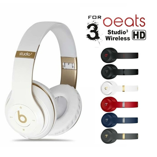 2022 Newest Refurbished Beats By Dr Dre Studio3 Wireless Bluetooth Headphones Hifi Stereo Sound Headset On Ear Headphones Mq562ll A Refurbished Headset By Dr Dre Studio 3 Wireless Black On Ear Headphones Hd Stereo