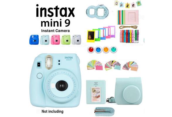 74 Pcs Camera Accessory Kit Fujifilm Instax Mini 9 8 Camera Case Album Sticker