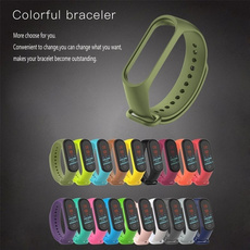 Jewelry, forxiaomimiband4replacement, siliconestrap, Silicone
