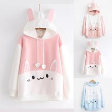 Kawaii, cute, Casual Hoodie, pullover hoodie
