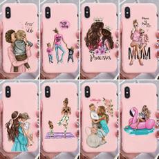 case, pink, cute iphone case, Samsung