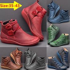 ankle boots, shortbootforwomen, Womens Boots, Leather Boots