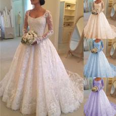 sleeveless, Lace, long dress, Dress