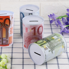 Box, decoration, cylinder, eurodollar