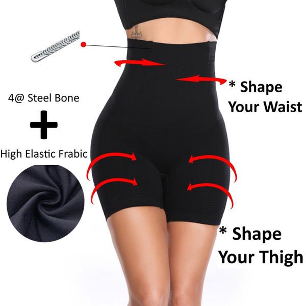 Women High Waist Body Shaper Butt Tummy Control Shapewear Boyshorts