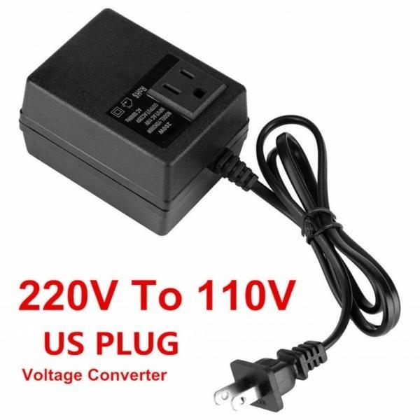 220V To 110V Step Down 300W Voltage Converter Transformer Adapter Travel EU Plug