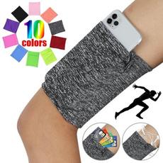 Outdoor, Elastic, mobilephonearmbag, fitnessmobilephonebag