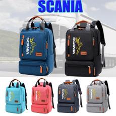 scanialogo, scania, Laptop, backpack bag