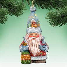 Christmas, Wooden, Christmas Ornament, Ornament