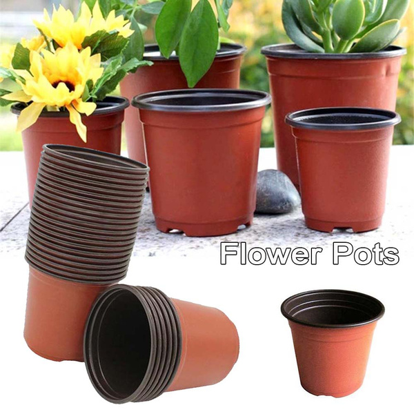 Home Decor 10 Pcs Flower Soft Plastic