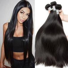 humanhairbundle, Belleza, brazilian virgin hair, Straight