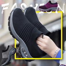 wedge, Platform Shoes, rockingshoe, woven
