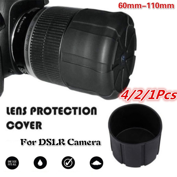Universal Silicone Lens Cap Cover For DSLR Camera Waterproof Anti-DustH es