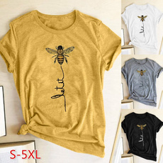Summer, Tees & T-Shirts, Necks, Sleeve