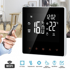 thermostatwithbacklight, thermostat, lcdprogrammablethermostat, roomtemperaturecontroller