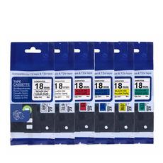 tzelabeltape, tze241, labelribboncassette, Colorful